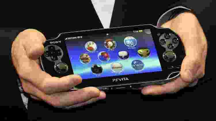 PS Vita foi lançado no Japão em 2011 e teve sua produção encerrada em março de 2019 - Yoshikazu Tsuno/AFP