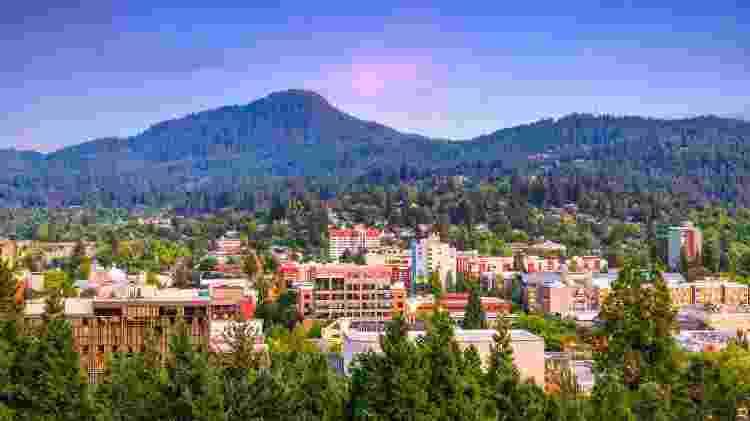 Eugene, em Oregon, nos Estados Unidos - iStock - iStock