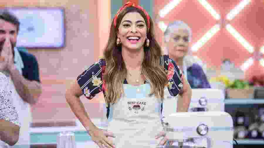 Maria da Paz participa do reality Best Cake em A Dona do Pedaço - Victor Pollak/TV Globo
