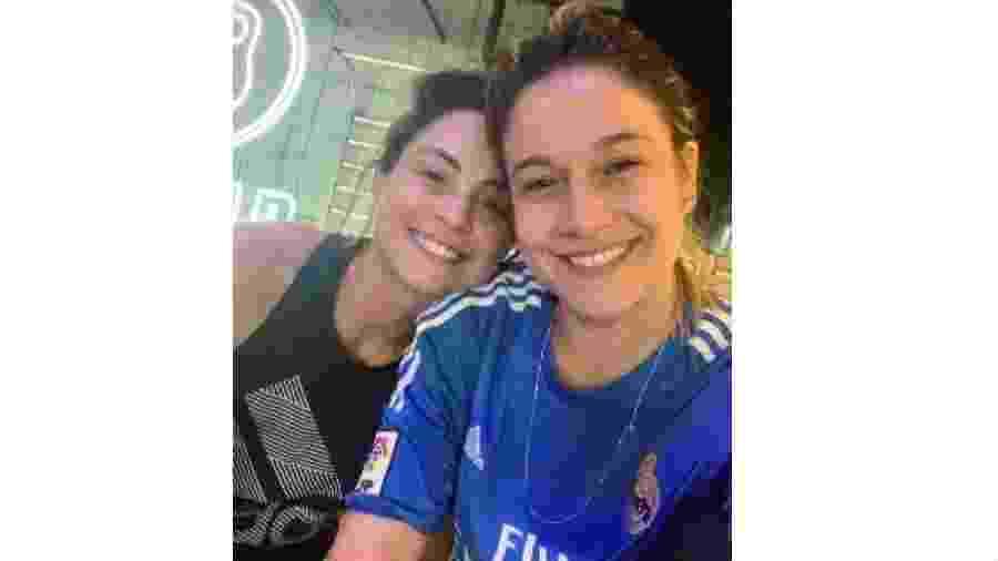 Fernanda Gentil e a mulher,  Priscila Montandon  - Reprodução/Instagram