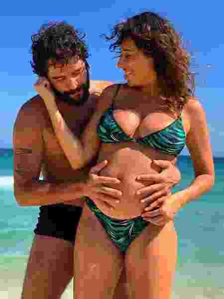 Giselle Itié e o marido - Reprodução/@gitie