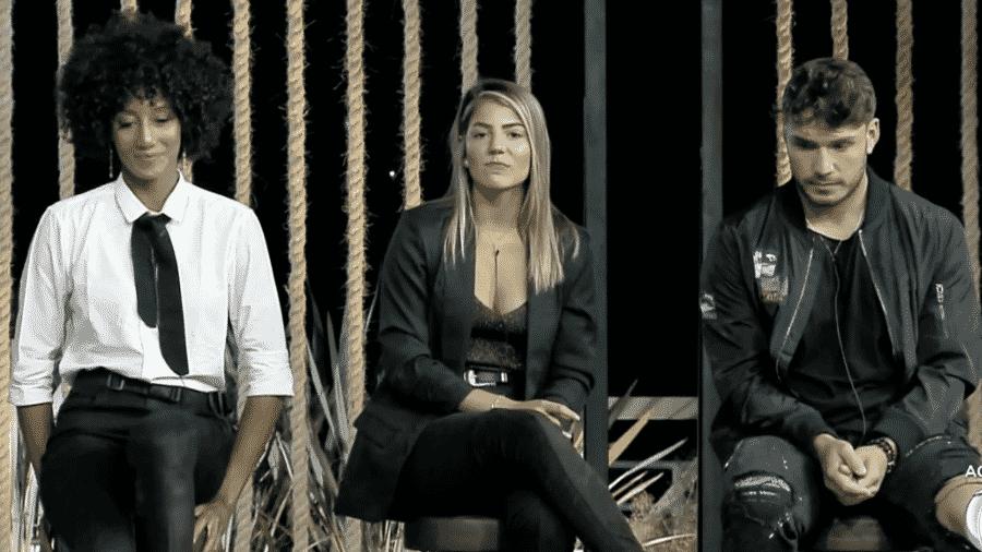 Hariany Almeida, Lucas Viana e Sabrina Paiva disputarão prova do roceiro em A Fazenda 2019 - Reprodução/RecordTV