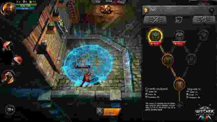 The Witcher MOBA - Reprodução - Reprodução