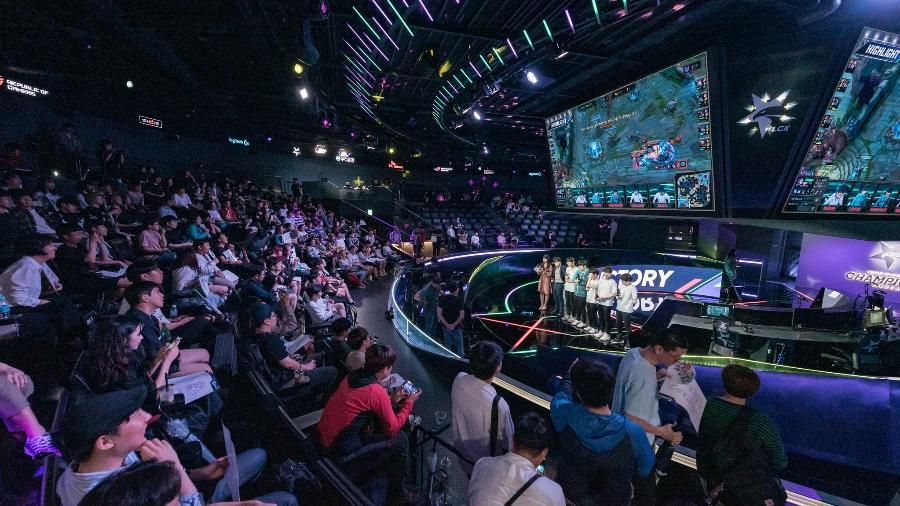 Torneio de League of Legends na Coreia do Sul suspendeu a entrada do público nas próximas rodadas - Divulgação