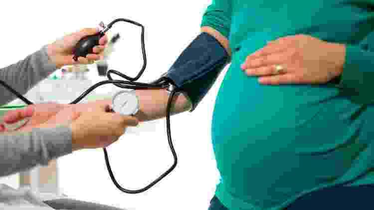 Hipertensão na gravidez, pressão alta grávida - iStock - iStock
