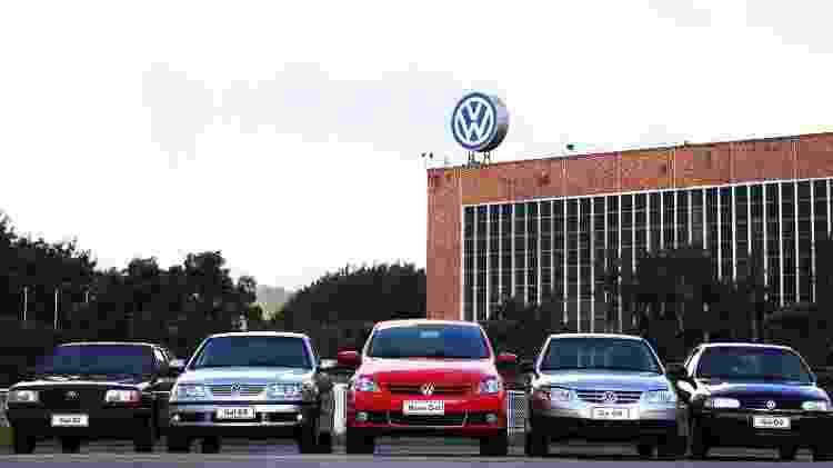 VW Gol gerações - Divulgação - Divulgação