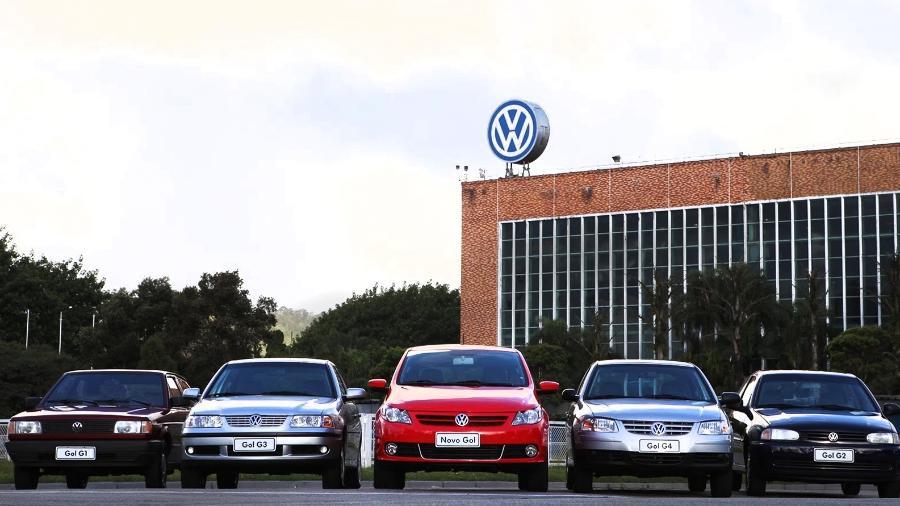 Volkswagen Gol gerações - Divulgação