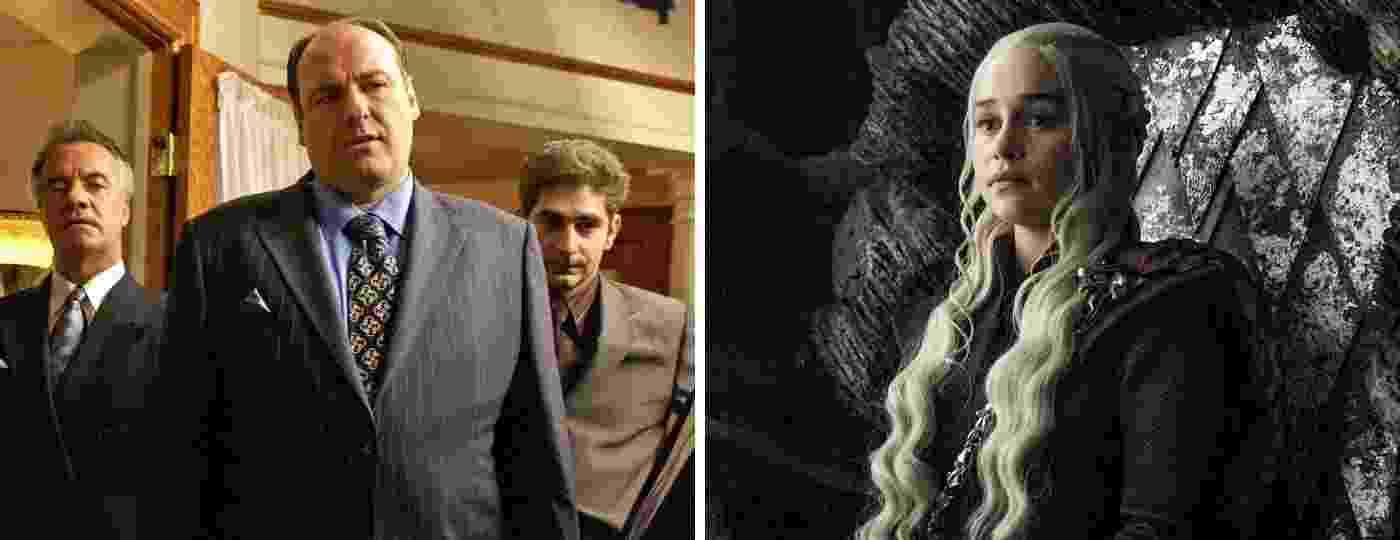 Elencos de Família Soprano e Game of Thrones - Divulgação