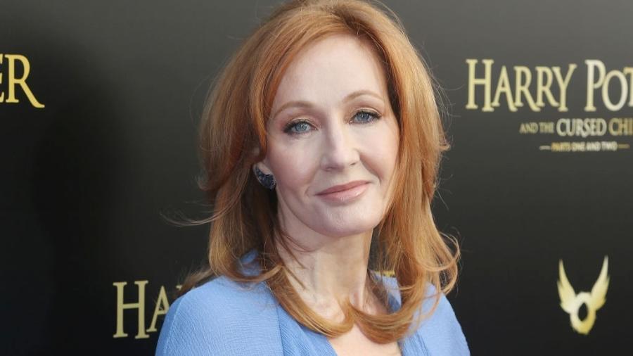 J.K. Rowling, da saga Harry Potter, foi acusada de transfobia - Bruce Glikas/Bruce Glikas/FilmMagic