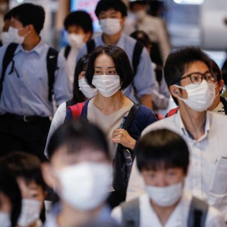 Arquivo - Japão decidirá nesta semana se vai impor um estado de emergência na área de Tóquio - James Matsumoto/SOPA Images/LightRocket via Getty Images
