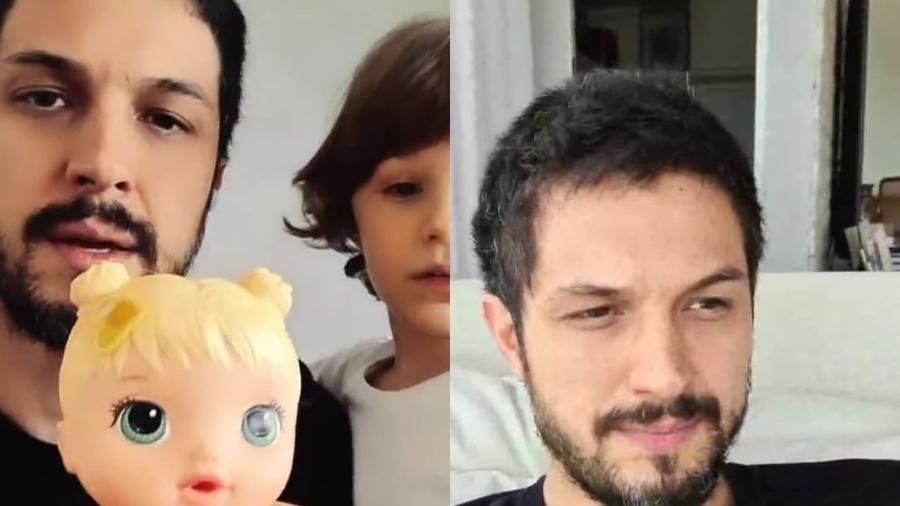 Romulo Estrela reflete sobre brincar de boneca com o filho - Reprodução/Instagram