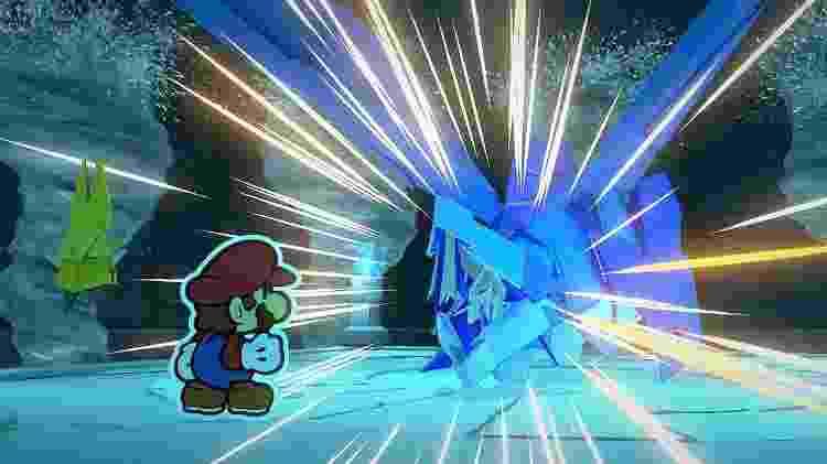 Paper Mario 15 - Reprodução - Reprodução