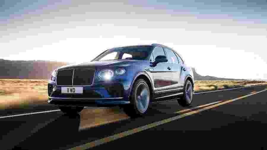 Bentley Bentayga Speed 2021 - Divulgação