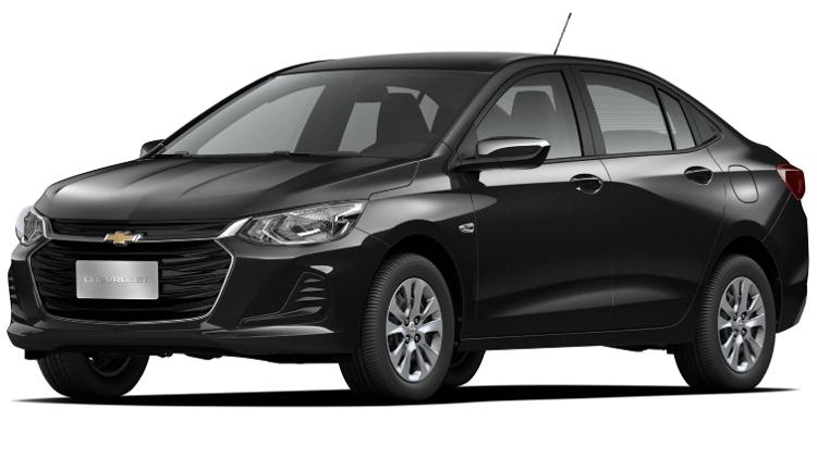 Chevrolet Onix Plus LT 1.0 aspirado - Divulgação - Divulgação