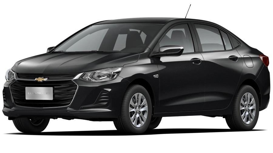 Onix Plus LT com motor 1.0 aspirado é o sedã compacto com menor consumo dentre os cinco modelos mais vendidos da categoria - Divulgação
