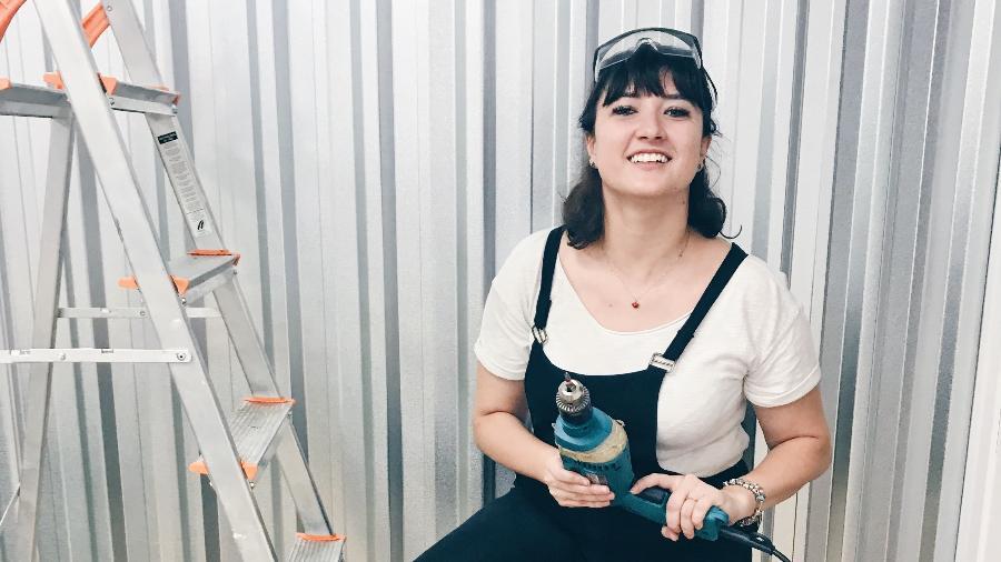 Camila comanda o Tapa na Casa, em Nossa: mão na massa nas reformas e transformações - Arquivo pessoal