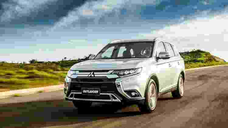 Mitsubishi Outlander tem três opções de motor - Divulgação - Divulgação