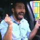 BBB 21: Gilberto vibra após ganhar a liderança - Reprodução/ Globoplay