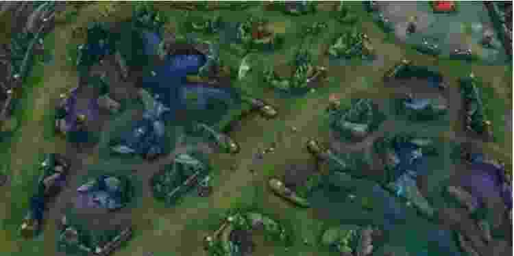 Wild Rift mapa - Reprodução - Reprodução