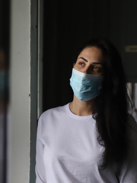 Monique Medeiros no Instituto Penal Ismael Sirieiro. Ela é acusada pelo assassinato do filho, Henry - Zô Guimarães/UOL