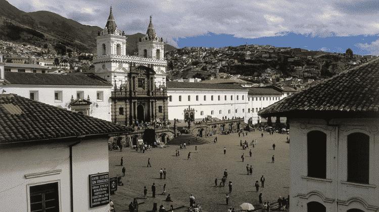 Quito foi declarada Patrimônio da Humanidade pela UNESCO há 43 anos - Getty Images - Getty Images