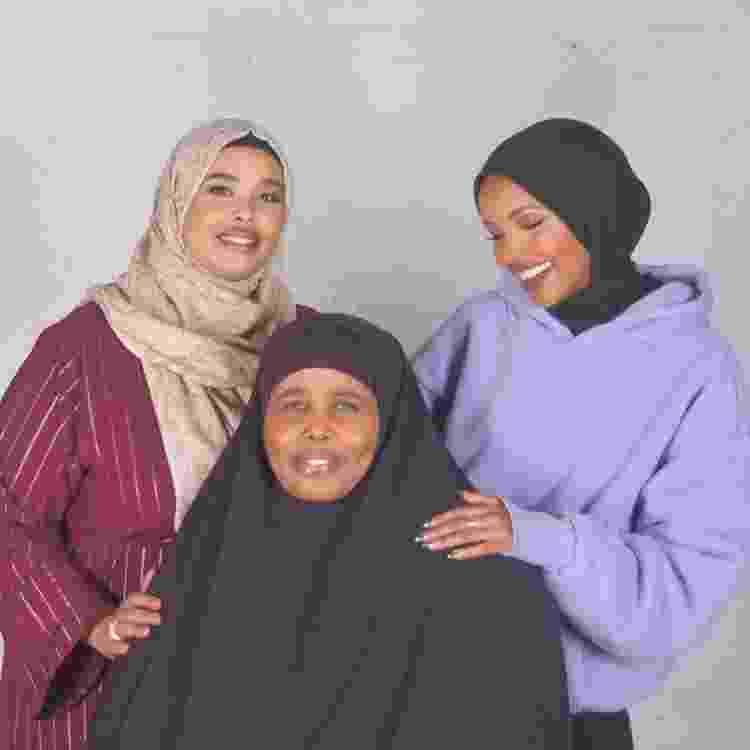 """Halima em foto com a família: """"Estou muito orgulhosa"""" - Reprodução/Instagram @halima - Reprodução/Instagram @halima"""