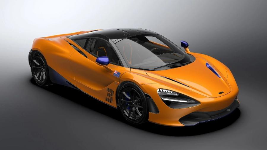 McLaren 720S Daniel Ricciardo Edition - Divulgação