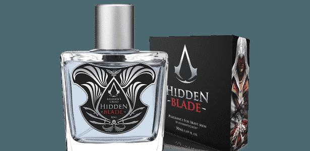 """""""Hidden Blade"""" é perfume masculino para fãs de """"Assassin""""s Creed"""" - Divulgação"""