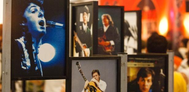 Exposição sobre os Beatles no Shopping SP Market - Leandro Godoi