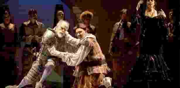 Ensaio da ópera Dom Quixote, de Jules Massenet, no Theatro São Pedro, em São Paulo - Heloisa Bortz/Divulgação - Heloisa Bortz/Divulgação