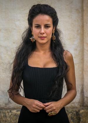 """Andreia Horta como Joaquina em """"Liberdade, Liberdade"""" - Paulo Belote/TV Globo/Divulgação"""