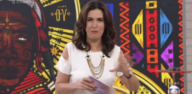 Fátima Bernardes discute a felicidade após anunciar a separação de William Bonner - Reprodução/TV Globo