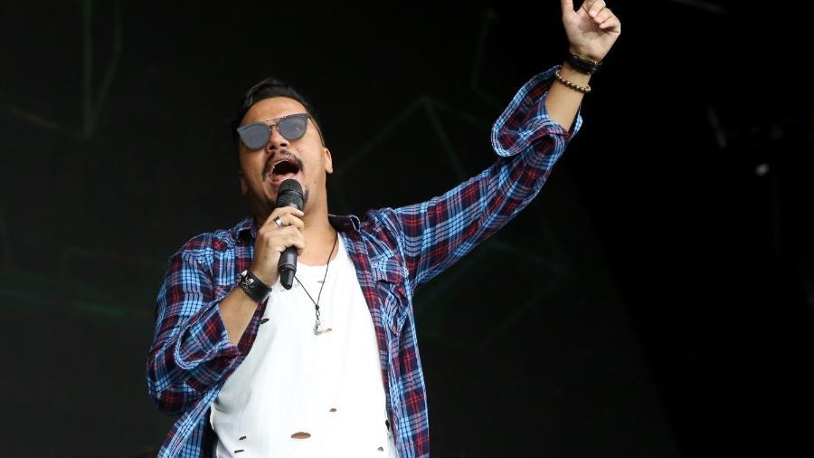 Bruno Cardoso, vocalista do grupo Sorriso Maroto - Roberto Filho/Brazil News