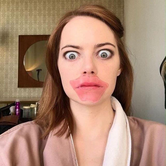 Preparativos: Emma Stone