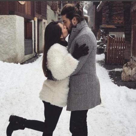 Luan Santana curte férias com Jade Magalhães em clima romântico na Suiça - Reprodução/Instagram