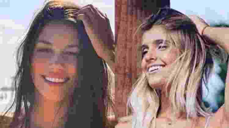 Luciana e Marina: as fãs que encantaram Justin Bieber e passaram a noite com ele - Reprodução/Arquivo pessoal - Reprodução/Arquivo pessoal
