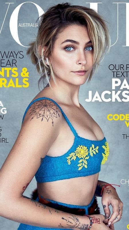Paris Jackson é a capa da Vogue australiana - Reprodução/Instagram ParisJackson