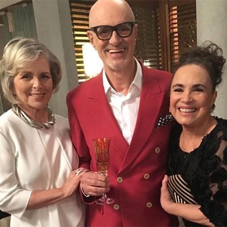 Regina Duarte contracena com Irene Ravache e Marcos Caruso  - Reprodução/Instagram