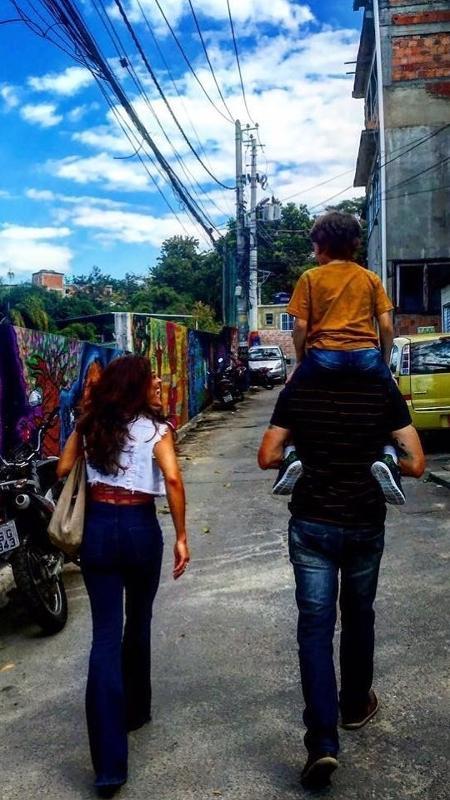 Juliana Paes (Bibi) ao lado de Emílio Dantas (Rubinho) e João Bravo (Dedé) - Reprodução/Instagram