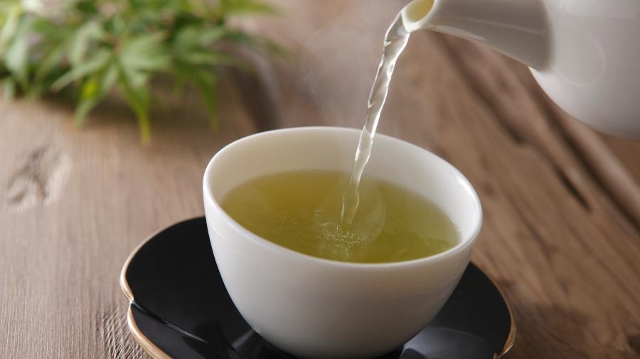 Chá verde é rico em antioxidantes - iStock