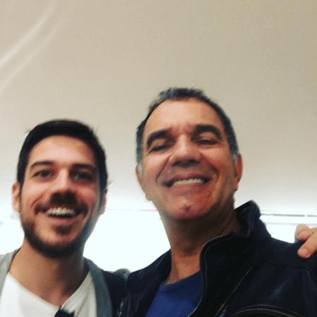 Marco Pigossi e Humberto Martins - Reprodução/Instagram/humbertomartins.oficial