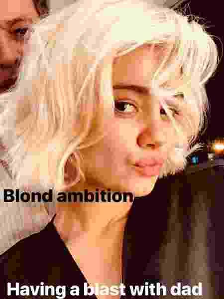 Sophie revelou sua nova cor de cabelo - Reprodução/Instagram