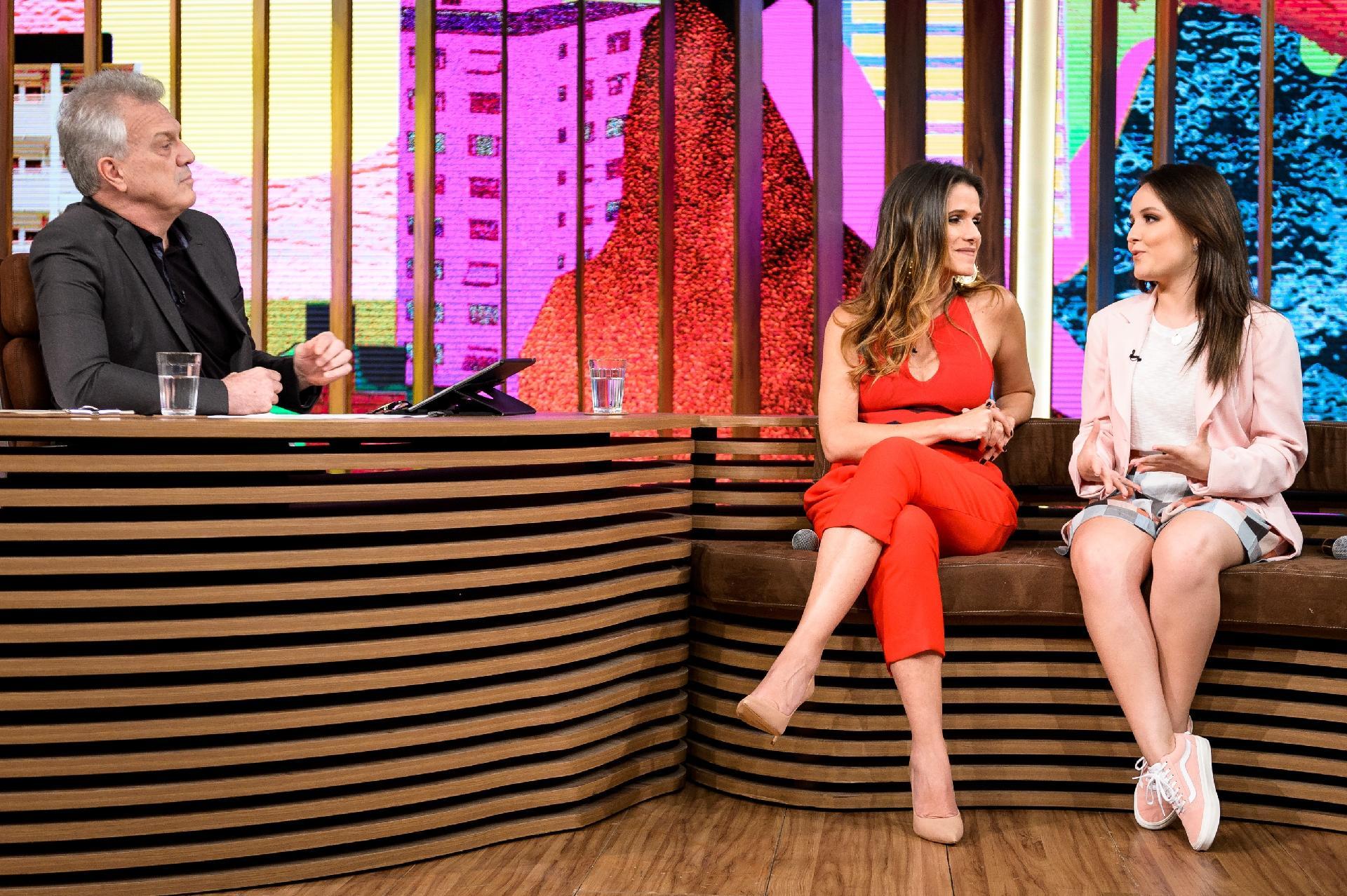 Liberada pelo SBT, Larissa Manoela vai à Globo divulgar filme no