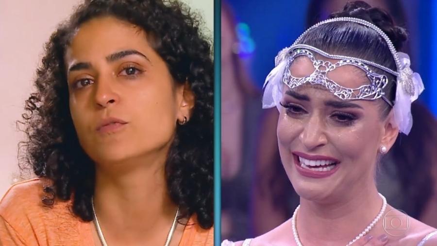 """Vencedora da """"Dança"""", Maria Joana chora ao rever problemas de família - Reprodução/GShow"""