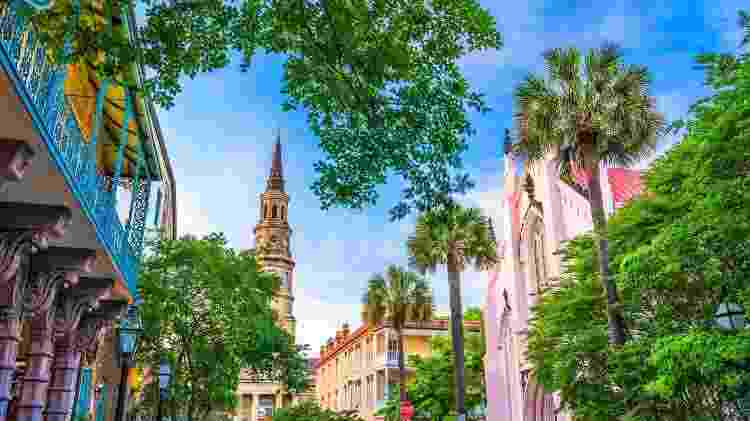 Charleston, na Carolina do Sul, Estados Unidos - Getty Images/iStockphoto - Getty Images/iStockphoto