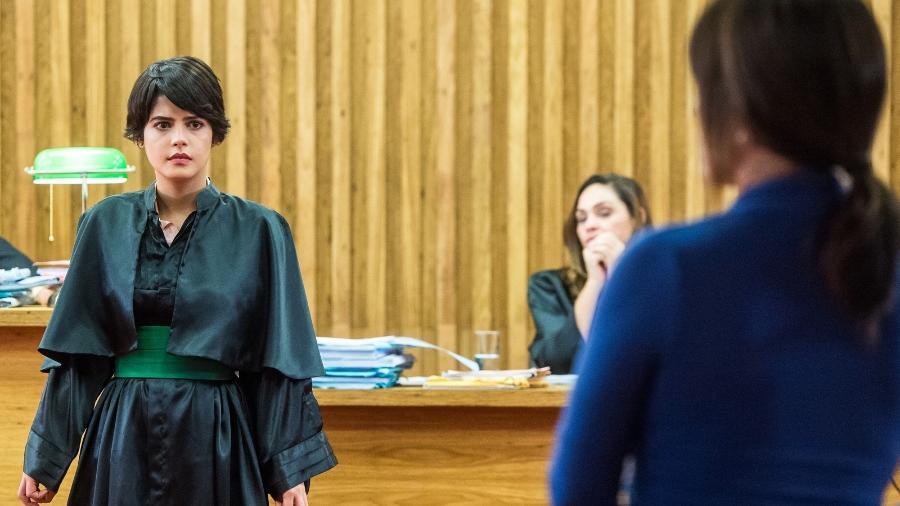 Duda e Adriana: mãe e filha descobrem parentesco durante julgamento - Reprodução/GShow/O Outro Lado do Paraíso