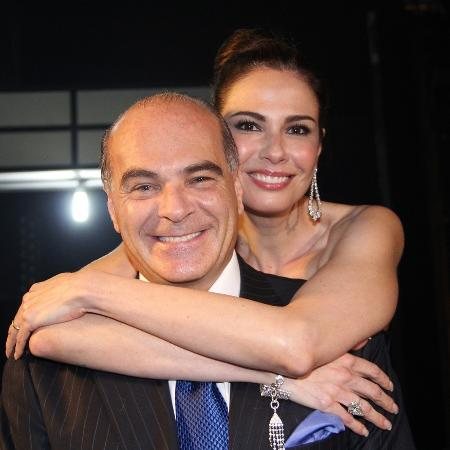 Luciana Gimenez e Marcelo de Carvalho - Folhapress