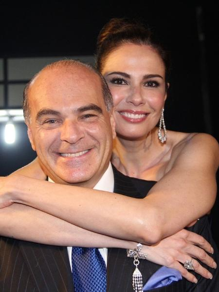 Luciana Gimenez e Marcelo de Carvalho são pais de Lorenzo, 7 anos - Folhapress