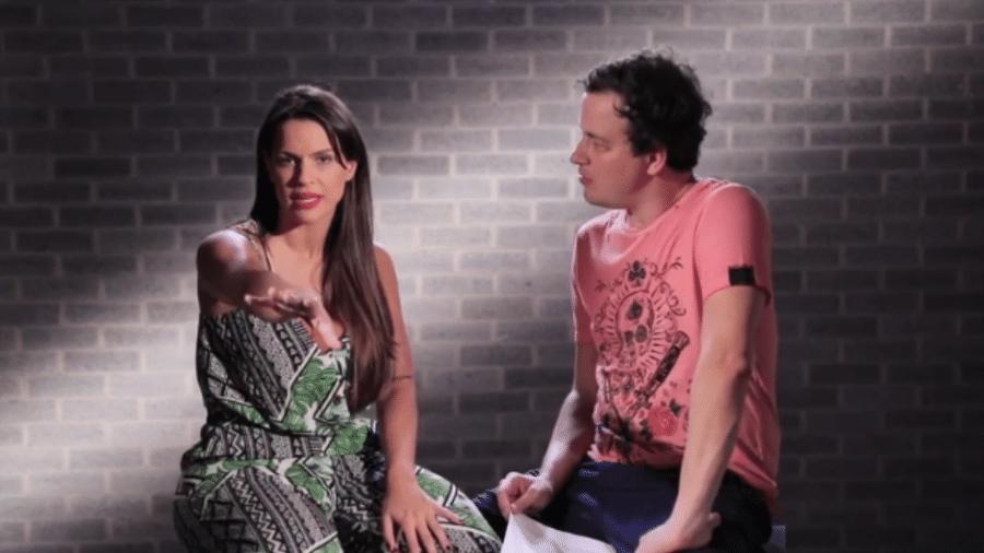Carol Dias é entrevistada por Rafael Cortez - Reprodução/YouTube