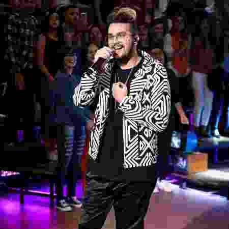 """Luan Santana também participou do """"Altas Horas""""  - Ramón Vasconcelos/ Divulgação/TV Globo - Ramón Vasconcelos/ Divulgação/TV Globo"""